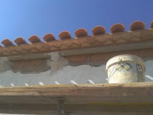 Sustitución cubierta arquitecto rotgla i corbera_alero